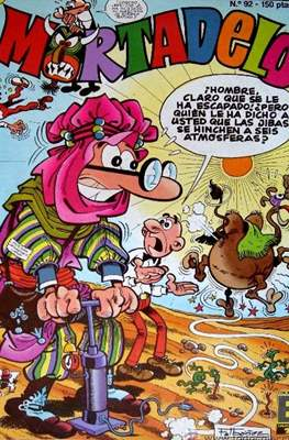 Mortadelo (1987-1991) (Grapa) #92