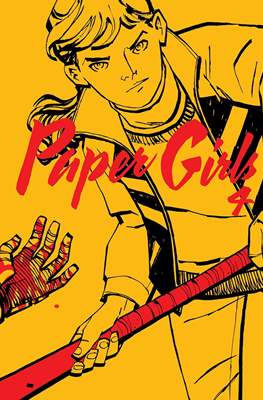 Paper Girls (Grapa 32 pp) #4
