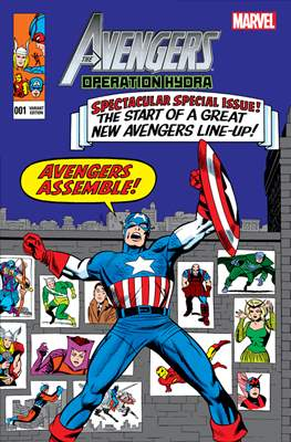 The Avengers: Operation Hydra (Variant Cover) (Comic Book) #1