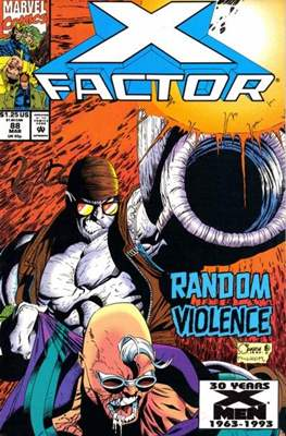 X-Factor Vol. 1 (1986-1998) (Comic Book) #88