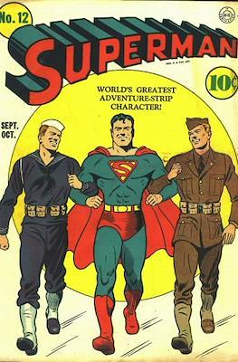 Superman Vol. 1 / Adventures of Superman Vol. 1 (1939-2011) (Comic Book) #12