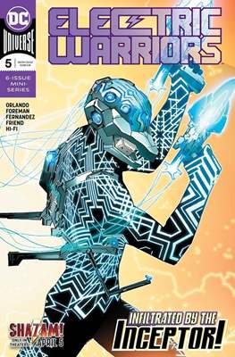 Electric Warriors (Comic Book) #5