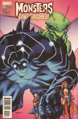 Monsters Unleashed (2017- Variant Cover) (Comic Book) #1.2