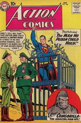 Action Comics Vol. 1 (1938-2011; 2016-) (Comic Book) #248
