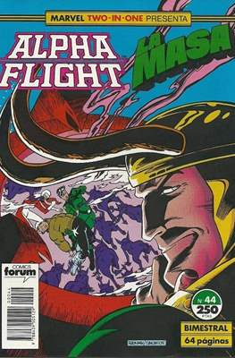 Alpha Flight vol. 1 / Marvel Two-in-one: Alpha Flight & La Masa vol.1 (1985-1992) (Grapa 32-64 pp) #44