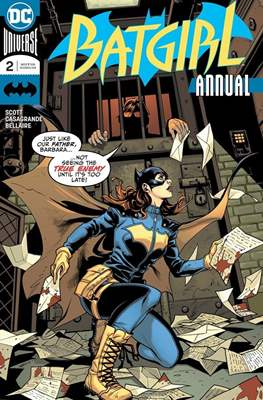 Batgirl Vol. 5 Annual (2017-) (Comic book) #2