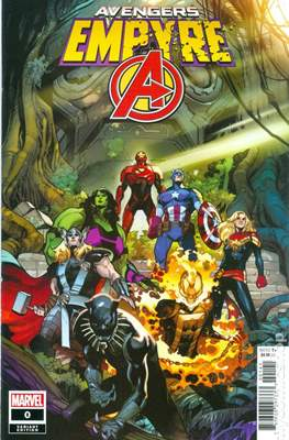 Empyre - The Avengers (Variant Cover) (Comic Book) #0.1