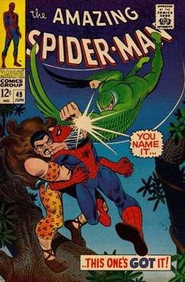 The Amazing Spider-Man Vol. 1 (1963-2007) (Comic-book) #49