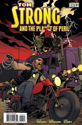 Tom Strong and the Planet of Peril (Grapa) #4