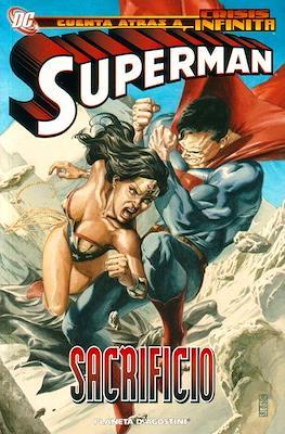 Cuenta atrás a Crisis Infinita. Superman: Sacrificio