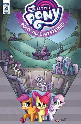 My Little Pony: Ponyville Mysteries (Comic-book) #4