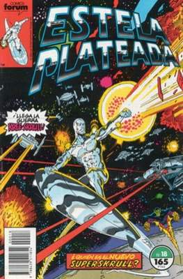 Estela Plateada Vol. 1 / Marvel Two-In-One: Estela Plateada & Quasar (1989-1991) (Grapa 32-64 pp) #18