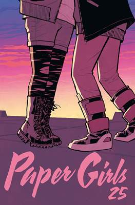 Paper Girls (Grapa 32 pp) #25