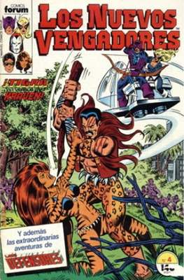 Los Nuevos Vengadores Vol. 1 (1987-1994) (Grapa 32 pp) #4