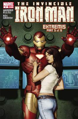 The Invincible Iron Man Extremis (Grapa) #5