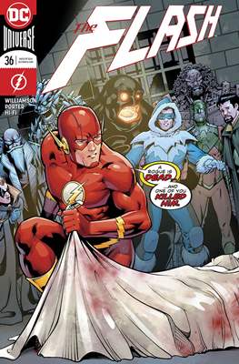 The Flash Vol. 5 (2016-2020) (Comic Book) #36