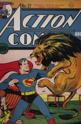 Action Comics Vol. 1 (1938-2011; 2016-) (Comic Book) #27