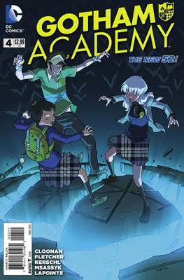 Gotham Academy (2014-2016) (Comic-Book) #4