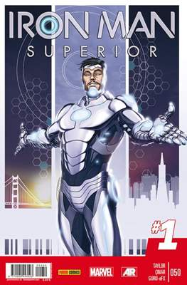 El Invencible Iron Man Vol. 2 (2011-) (Grapa - Rústica) #50