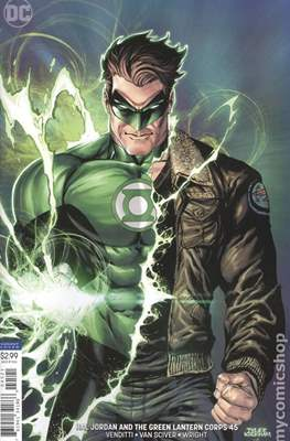 Hal Jordan and the Green Lantern Corps (Vol. 1 2016-2018 Variant Cover) (Comic Book) #45