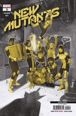 New Mutants Vol. 4 (2019- Variant Covers) (Comic Book) #2