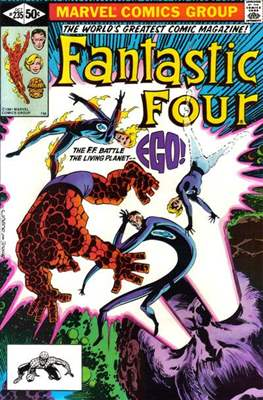 Fantastic Four Vol. 1 (1961-1996) (saddle-stitched) #235