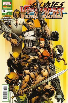 Salvajes Vengadores (Grapa) #5