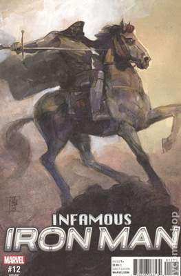 Infamous Iron Man Vol. 1 (Variant Covers) #12