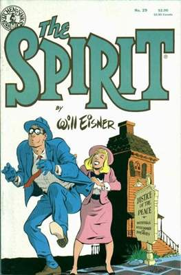 The Spirit (1983-1992) (Comic book. 32 pp) #29