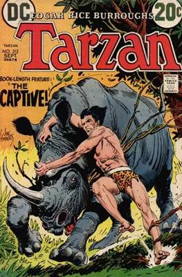 Tarzan (Comic-book) #212