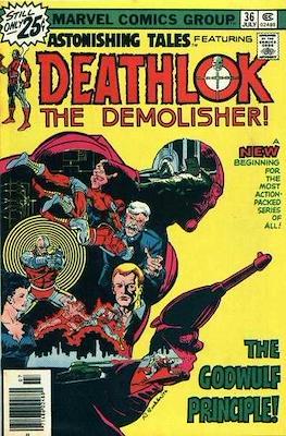 Astonishing Tales Vol 1 (Comic Book. 1970 - 1976) #36