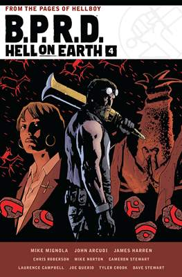 B.P.R.D. Hell on Earth (Hardcover 408 pp) #4
