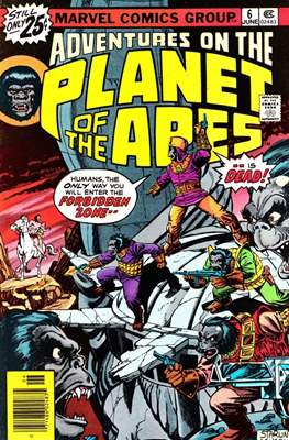 Adventures on the Planet of Apes #6