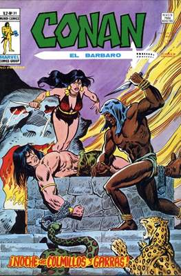 Conan el Bárbaro Vol. 2 (Grapa) #31