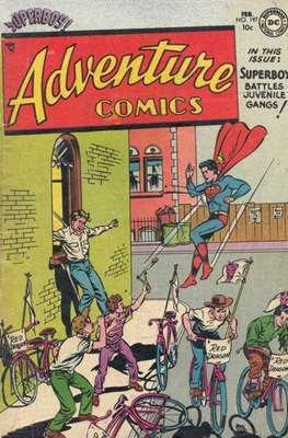New Comics / New Adventure Comics / Adventure Comics (1935-1983 ; 2009-2011) #197