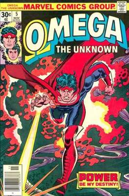 Omega The Unknown (Comic Book. 1976 - 1977) #5