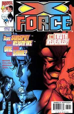 X-Force Vol. 1 (1991-2002) (Comic Book) #79