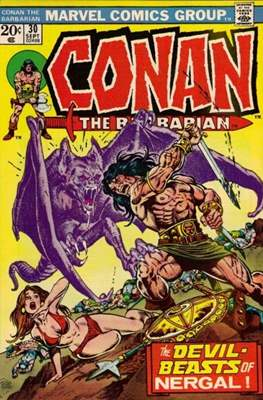 Conan The Barbarian (1970-1993) (Comic Book 32 pp) #30