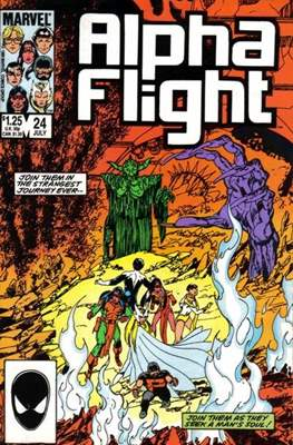 Alpha Flight vol. 1 (1983-1994) #24