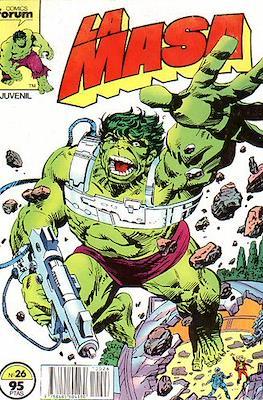 La Masa. El Increíble Hulk (Grapa 36-32 pp) #26