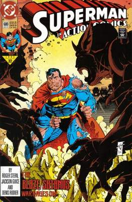 Action Comics Vol. 1 (1938-2011; 2016-) (Comic Book) #680