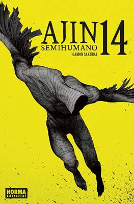 Ajin: Semihumano (Rústica con sobrecubierta) #14