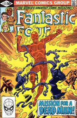 Fantastic Four Vol. 1 (1961-1996) (saddle-stitched) #233