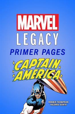 Captain America: Marvel Legacy Primer Pages