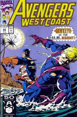 West Coast Avengers Vol. 2 (Comic-book. 1985 -1989) #69