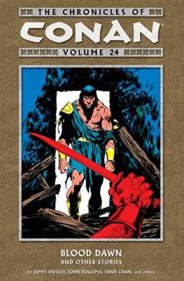 The Chronicles of Conan the Barbarian (Paperback) #24