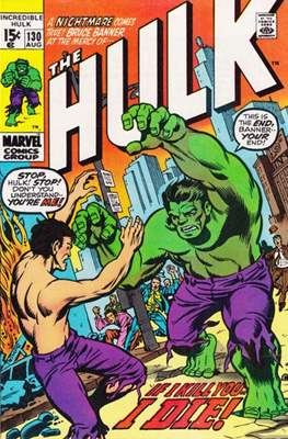 The Incredible Hulk Vol.1 (Saddle-stitched. 1962-1999) #130