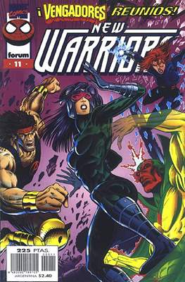 The New Warriors vol. 3 (1996-1997) (Grapa. 17x26. 24 páginas. Color.) #11