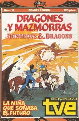 Dungeons and dragons. Dragones y mazmorras (Grapa 32 pp) #14