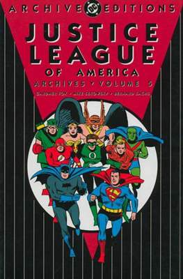 DC Archive Editions. Justice League of America (Hardcover) #5
